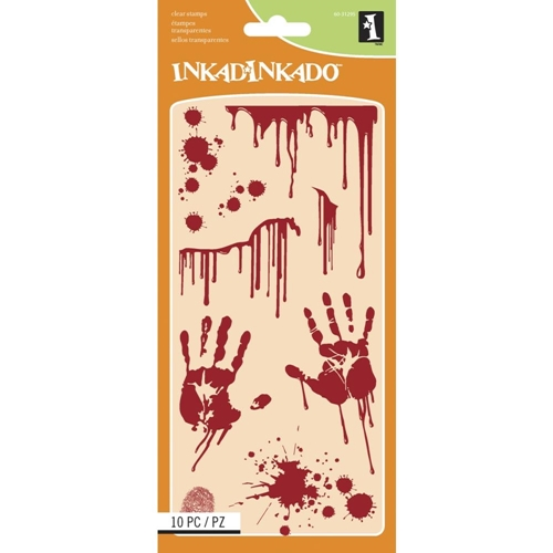 Inkadinkado Clear Stamp BLOODY SCENE 60-31295 Preview Image