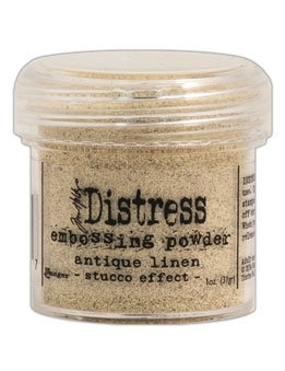 Tim Holtz Distress Embossing Powder ANTIQUE LINEN Ranger TIM21087