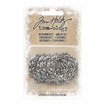 RESERVE Tim Holtz Idea-ology WREATHS Adornments TH93634