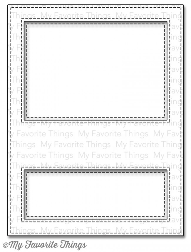 My Favorite Things STITCHED COVER UP COMPANION VERTICAL Die-Namics MFT767 zoom image