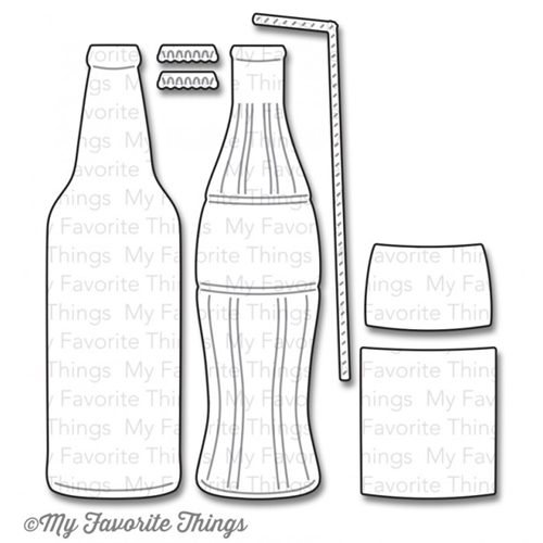 My Favorite Things SODA POP BOTTLES Die-Namics MFT764 Preview Image