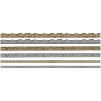 Tim Holtz Idea-ology  METALLIC Trimmings TH93251