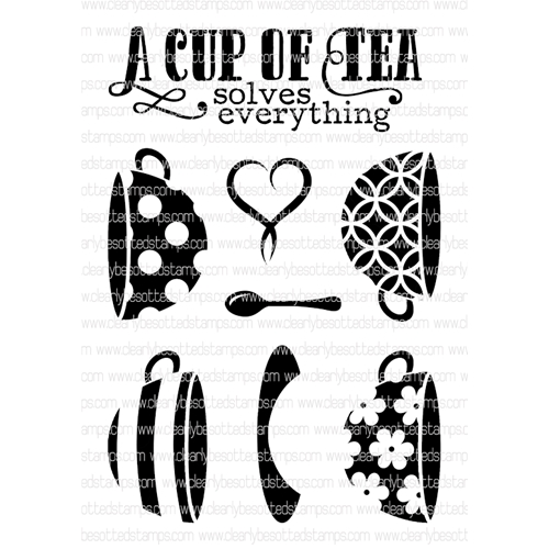 Clearly Besotted WARM SOLUTIONS Clear Stamp Set  Preview Image