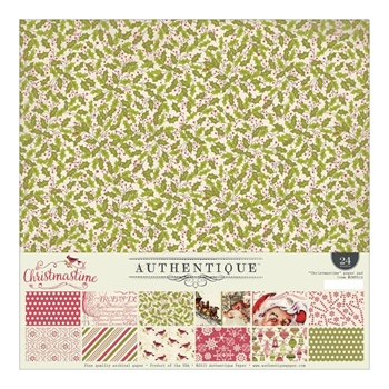 Authentique CHRISTMASTIME 12 x 12 Paper Pad CMT010