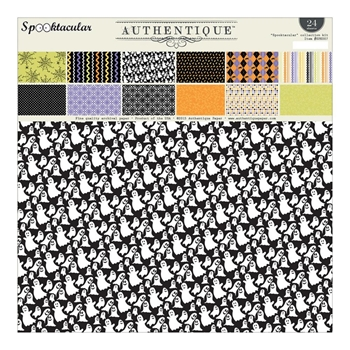 Authentique SPOOKTACULAR 12 x 12 Paper Pad SPK007*