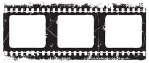 Tim Holtz Rubber Stamp NEGATIVE p6-1283 Film Strip Stampers Anonymous Preview Image