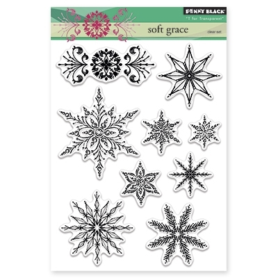 Penny Black Clear Stamps SOFT GRACE 30-311* Preview Image