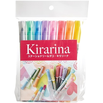 Kirarina 2Win SET OF 8 Scented Markers 522254