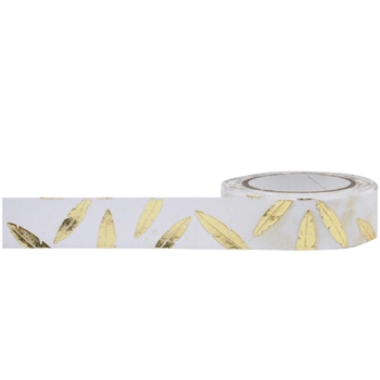 Little B GOLD FEATHERS Foil Tape 100779