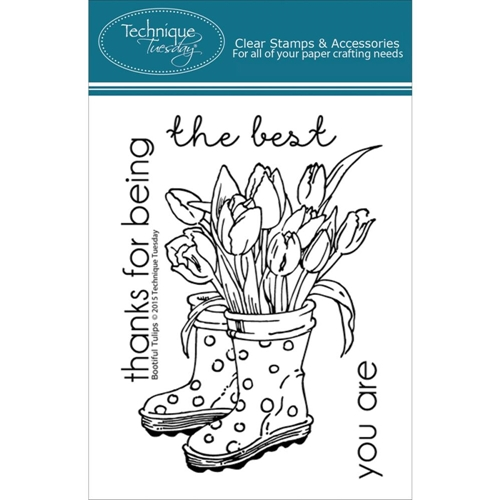 Technique Tuesday BOOTIFUL TULIPS Clear Stamps 02216 Preview Image