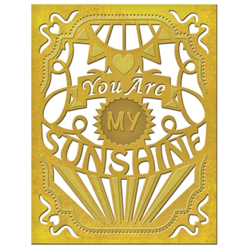 S4-561 Spellbinders MY SUNSHINE Die Set