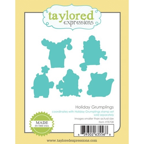 Taylored Expressions HOLIDAY GRUMPLINGS DIE Set TE708 Preview Image