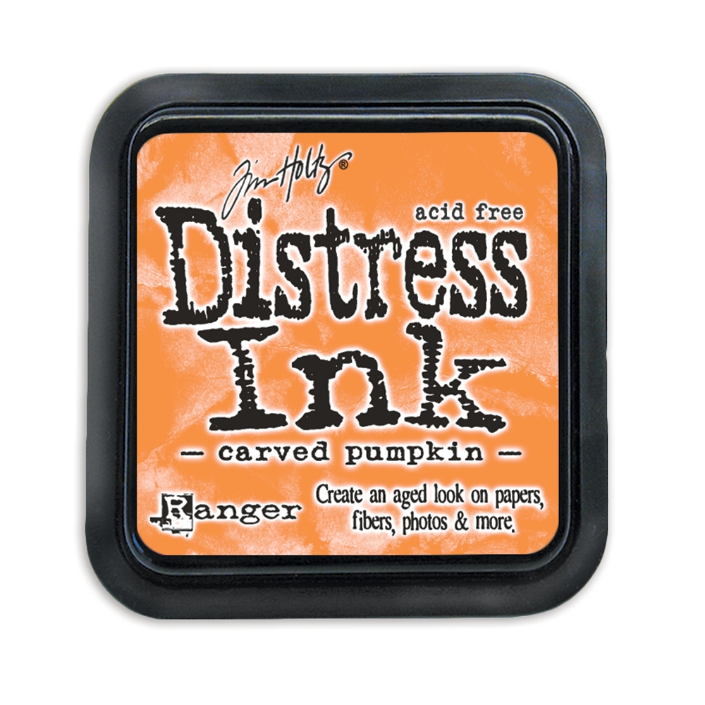 Tim Holtz Distress Ink Pad CARVED PUMPKIN Ranger TIM43201 zoom image
