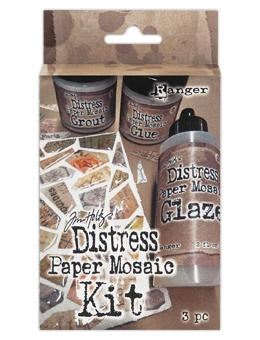 Tim Holtz Distress PAPER MOSAIC KIT TDK47858*