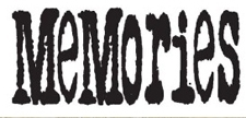 Tim Holtz Rubber Stamp MEMORIES Stampers Anonymous J3-1079