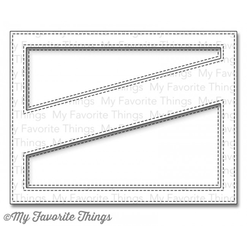 My Favorite Things STITCHED COVER UP DIAGONAL COMPANION Die-Namics MFT769