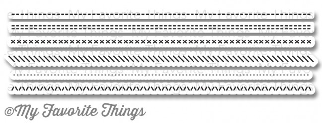 My Favorite Things BASIC STITCH LINES Die-Namics MFT777 zoom image
