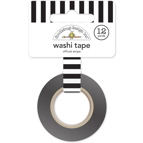 Doodlebug Black Stripe Washi Tape