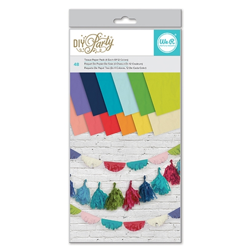 We R Memory Keepers DIY PARTY TISSUE PAPER PACK 660807* Preview Image