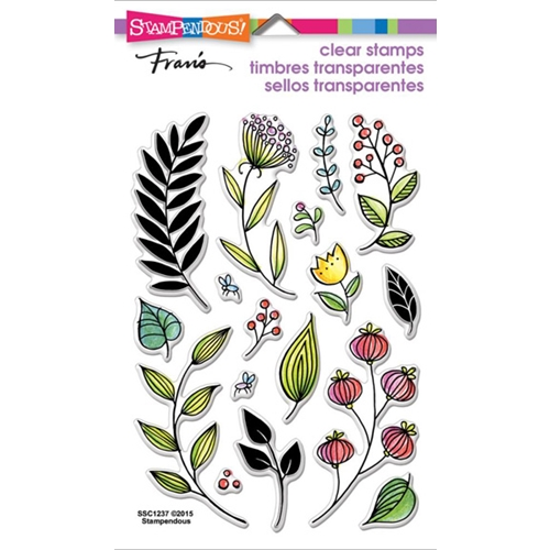 Stampendous Clear Stamps FRONDS SSC1237 Preview Image