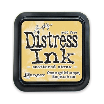 Tim Holtz Distress Ink Pad SCATTERED STRAW Ranger TIM21483