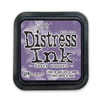 Tim Holtz Distress Ink Pad DUSTY CONCORD Ranger TIM21445