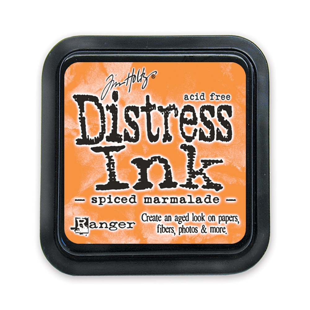 Tim Holtz Distress Ink Pad SPICED MARMALADE