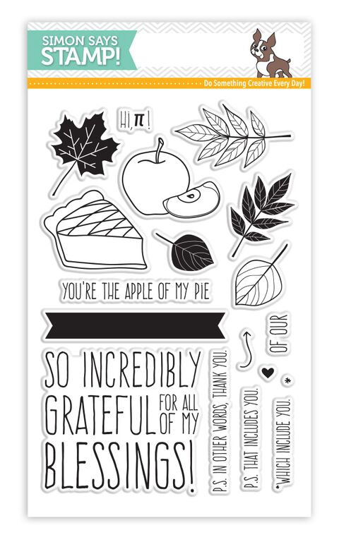 Simon Says Clear Stamps APPLE OF MY PIE sss101569 Preview Image