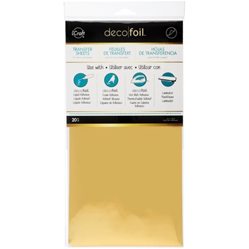 Thermoweb Decofoil Sheets - Gold Value Pack