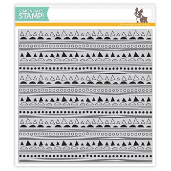 Simon Says Cling Stamp DOODLE BACKGROUND sss101572 Create Joy