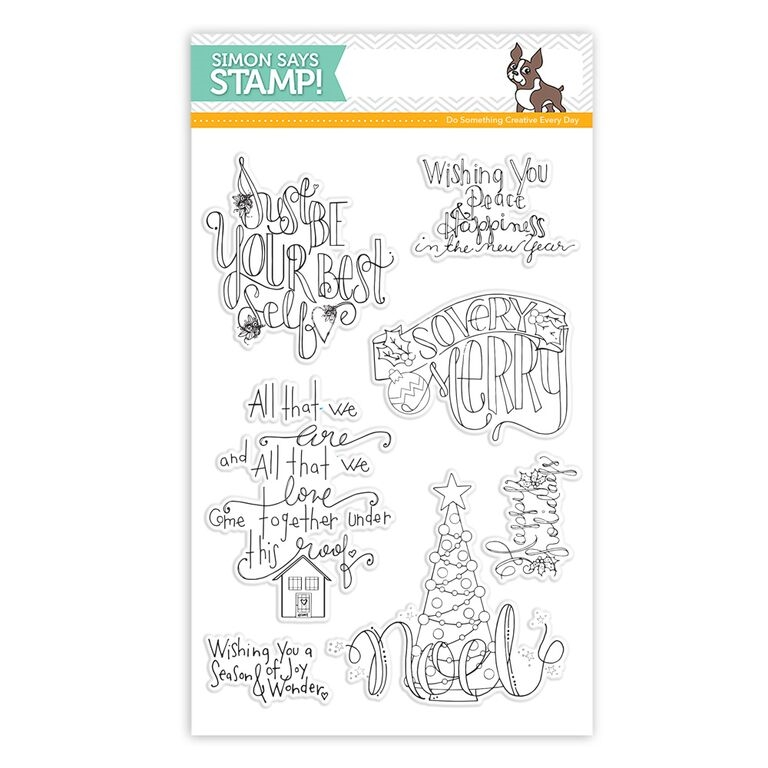 Simon Says Clear Stamps SO VERY MERRY sss101579 zoom image