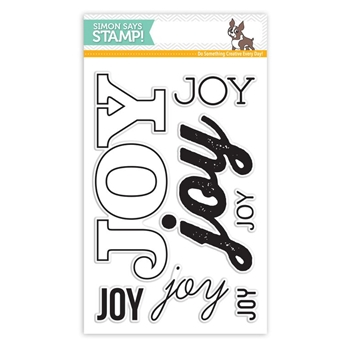 Simon Says Clear Stamps BIG Create JOY sss101574