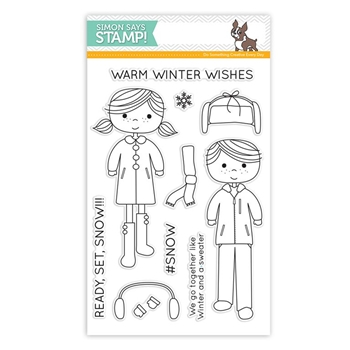 Simon Says Clear Stamps READY SET SNOW sss101578