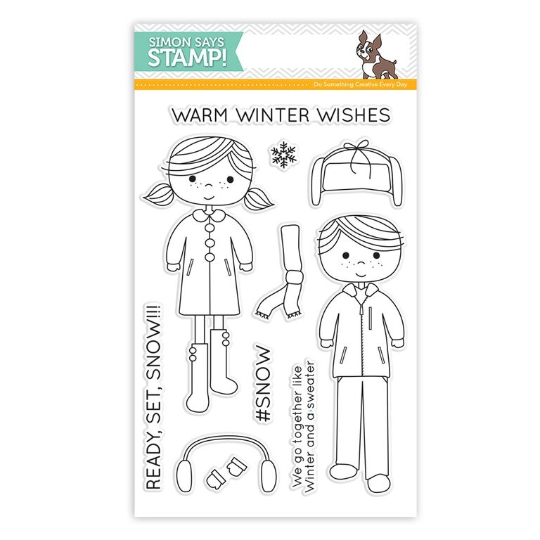 Simon Says Clear Stamps READY SET SNOW sss101578 zoom image