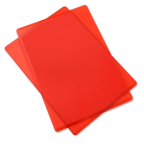 Sizzix CHERRY RED Standard Cutting Pads Pair 661033* zoom image