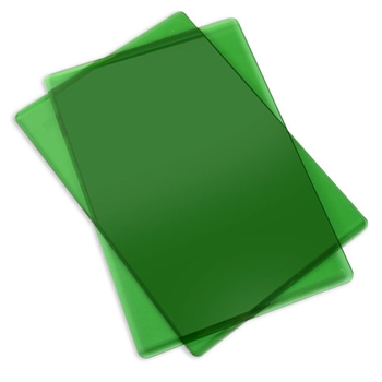 Sizzix APPLE GREEN Standard Cutting Pads Pair 661031*