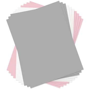 Sizzix PAPER LEATHER SHEETS ASSORTED PASTELS 8.5x11 Paper 661150