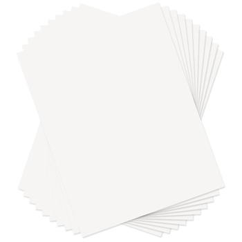 Sizzix PAPER LEATHER SHEETS WHITE 8.5x11 Paper 661151