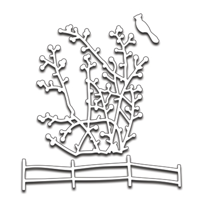 Penny Black BERRY BRANCHES Thin Metal Creative Dies 51-178* Preview Image