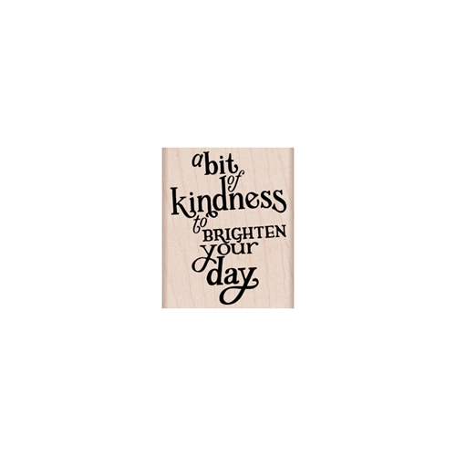 Hero Arts Rubber Stamp A BIT OF KINDNESS G6120 Preview Image