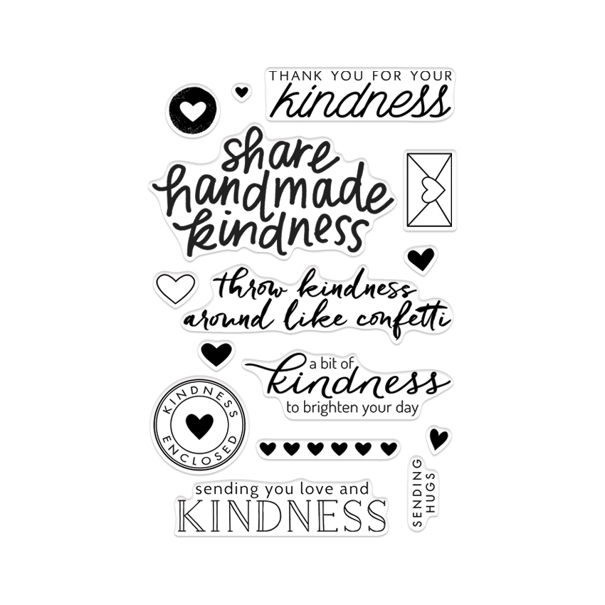 Hero Arts Clear stamps ACTS OF KINDNESS CL911 zoom image