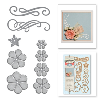 S6-050 Spellbinders CINCH AND GO FLOWER Die Set