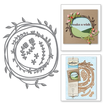 S4-572 Spellbinders WREATH Die Set