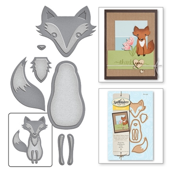 S2-193 Spellbinders FOREST FOX Die Set