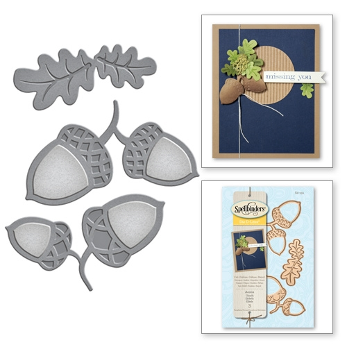 S2-191 Spellbinders ACORNS Die Set  Preview Image