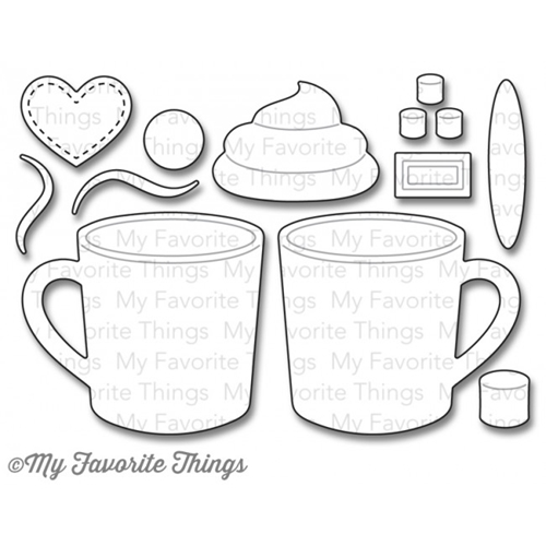 My Favorite Things HOT COCOA CUPS Die-Namics MFT803 Preview Image