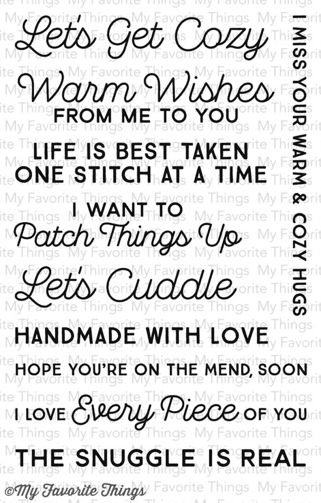 My Favorite Things LETS GET COZY Clear Stamps CS92* zoom image