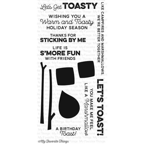 My Favorite Things GET TOASTY Clear Stamps CS91 Preview Image