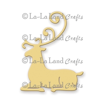 La-La Land Crafts REINDEER 2 Die Set 8148