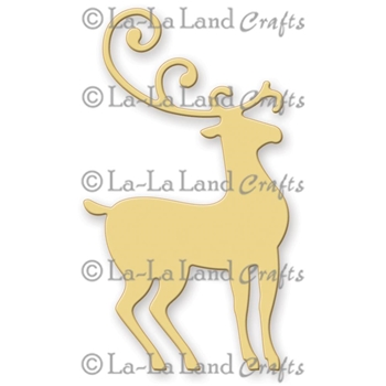 La-La Land Crafts REINDEER 1 Die Set 8147